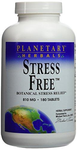 Stress Free Calm Formula Planetary Herbals 180 Tabs
