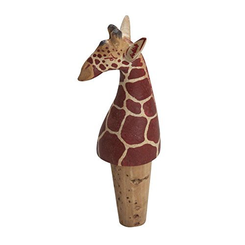 Fun Animal Wine Bottle Stopper 'Bottle Topper Giraffe'