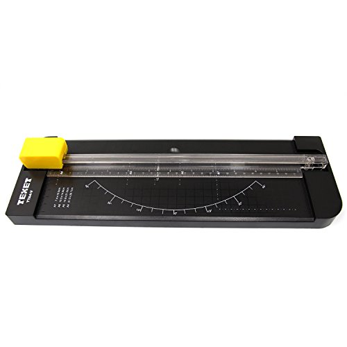 Texet TTA4-V A4 Paper Trimmer | Cutter with Three Replacement Blades Included | Bestseller in UK