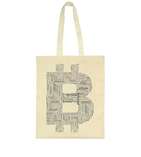 Words Made Tote Of Letter B Bitcoin Bag Small 71UXqP7R