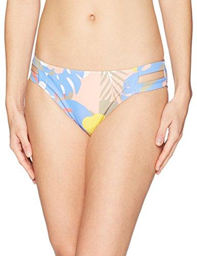 Mae Women's Swimwear Double Strap Hipster Classic Coverage Bikini Bottom