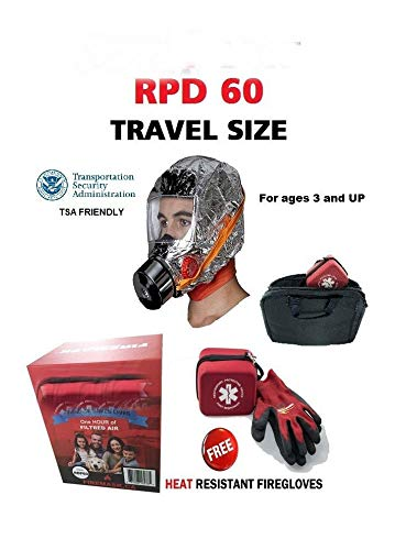 RPD60 Smoke mask fire Escape 60 Minutes of Breathing in Smok