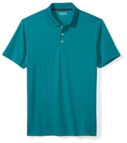 - Amazon Essentials Men's Slim-Fit Quick-Dry Golf Polo Shirt, Ink Blue, X-Large