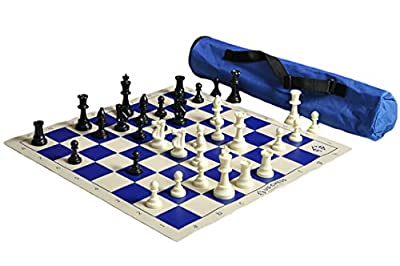 US Chess Federation's Quiver Chess Set Combo - Blue