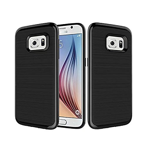 Samsung Galaxy Note 5 Case, [Dual Layer: Thin Armor TPU Interior Silicone + Heavy Duty Solid PC Back] Scratch Resistant Brushed Surface (Case Flip 4 Spigen Note)