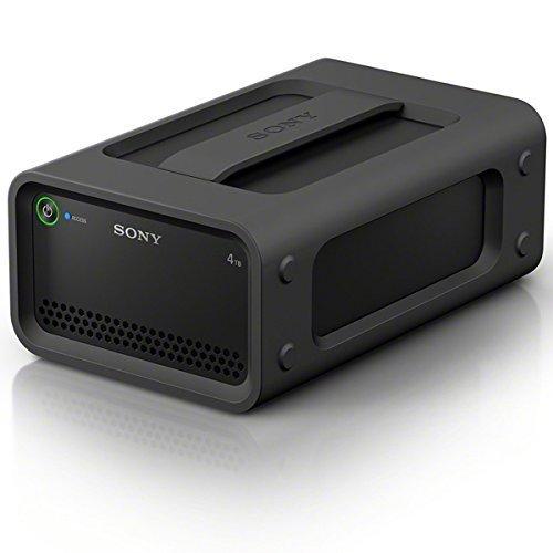Sony 4TB Ruggedized HDD RAID Hard Drive with Thunderbolt 2, USB 3.0, Black (PSZRA4T/BQ)
