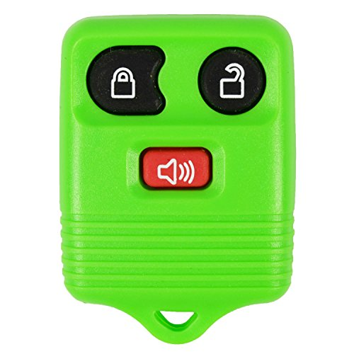 (Green- QualityKeylessPlus Remote Replacement 3 Button Keyless Entry FCC ID: CWTWB1U331 FREE KEYTAG)