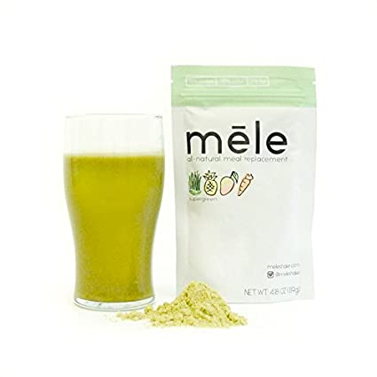 Mele, all-natural comida Sustitución, Supergreen//500 ...