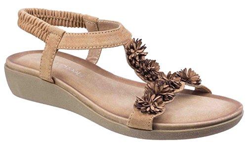 Sandals Summer Slingback Fleet Bar Womens amp; Foster Tan Matira Ladies T gOxzwSg