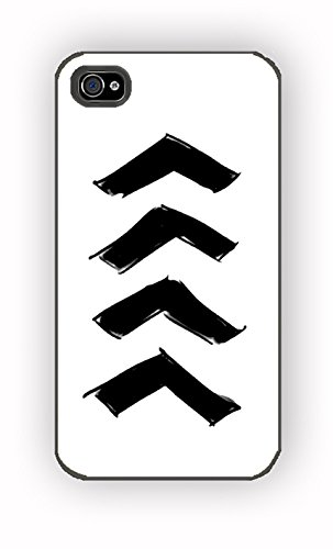 Arrows tattoo for iPhone 4/4S Case