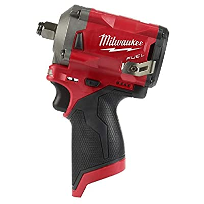 "Milwaukee 2555-20 M12 FUEL Stubby 1/2"" Impact Wrench (Bare Tool Only)"
