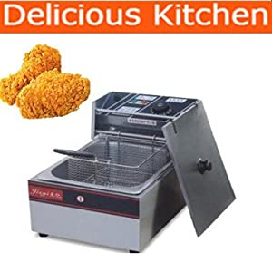 FY-81A Stainless Steel Commercial Electric Deep Fat Fryer Chip