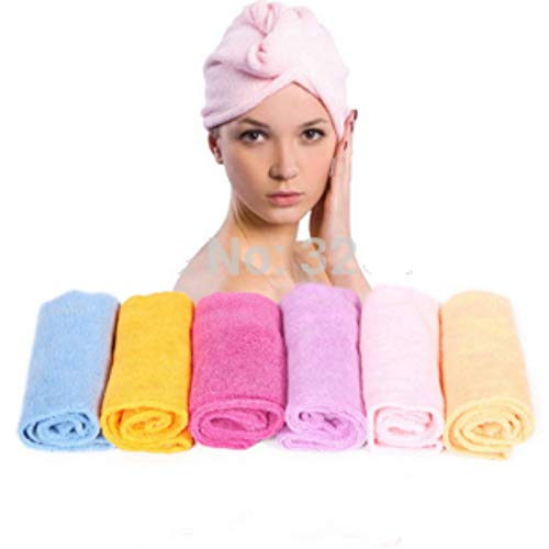 (High Quality|Shower Caps|Free Shipping 23 * 66cm Magic Dry Hair Cap Shower Cap Super Absorbent Dry Hair Towel|by ATUKI -)