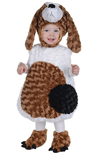 Toddler's Basset Hound Belly Babies Costume - Medium
