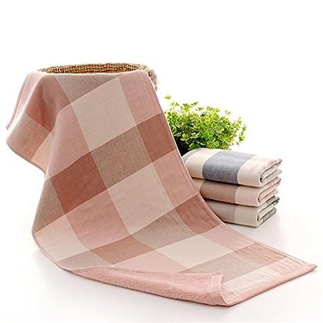 mmynl hilo algodón puro Toalla Sepia para limpiar la cara adultos hombres, parejas Toallas el color rosa 76 x 34 cm: Amazon.es: Hogar