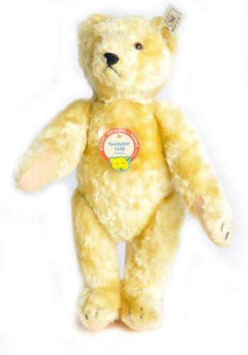 Steiff Teddy Bear 1948 Blond Replica, white tag 408328, LE 5000, 1997 [Toy]