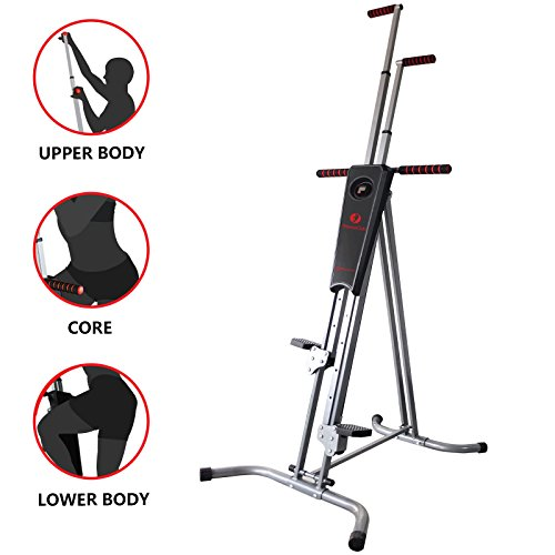 New Exercise Stepper Vertical Climber Machine Cardio Workout Fitness Gym Equipment