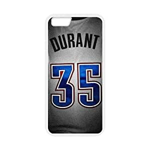 Kevin Durant 35 Jersey Personalzied Custom Design Apple Iphone 6 4.7inches Hard Case Cover phone Cases Covers