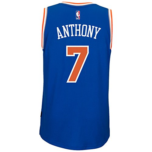 Adidas Mens New York Knicks Nba Carmelo Anthony Soul Swingman Jersey Xx Large