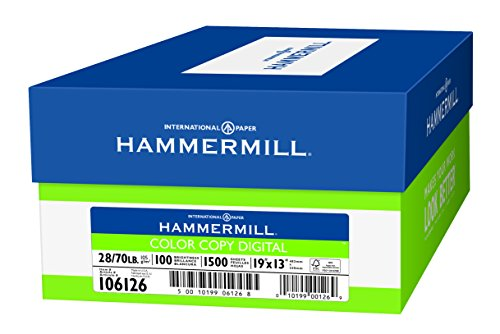 Hammermill Paper, Color Copy Digital Poly Wrap, 28lb, 8.5x11,  Letter, 100 Bright 300 Sheets / 1 Pack, (102700R) Made In The USA