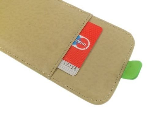 handy-point Flexible Flip Case Klapptasche Klapphülle Tasche Hülle Schale Schutzhülle flexi Schutztasche Flipcase mit flexibler Gummischale mit Fach für EC-Karte Kartenfach für iPhone 6 Plus 6S Plus,
