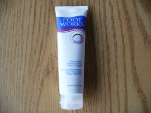 Avon Foot Works Berry Mint Moisturizing Foot Cream