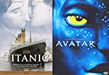James Cameron Director's Choice 2-Pack - Avatar & Titanic 2-Hollywood Blockbuster DVD Bundle