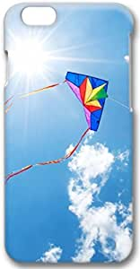 Colorful Kite Apple iPhone 6 Plus Case, 3D iPhone 6 Plus Cases Hard Shell Cover Skin Casess