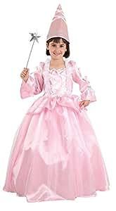 Disfraz hada madrina rosa - Único, 7 a 9 años
