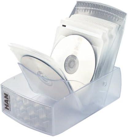 Han Combo 9232-63 - Caja organizadora para CD (plástico), diseño ...
