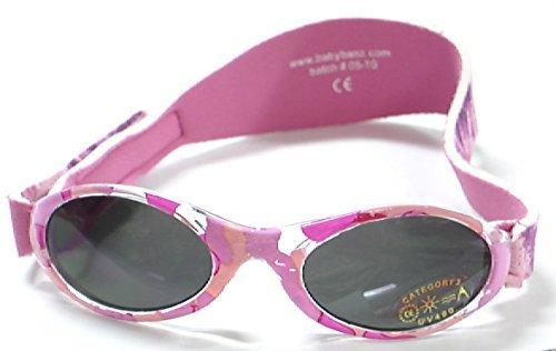 Adventure BanZ Baby Sunglasses, Pink Diva Camo, Infants 0 2 Years Size: Infants 0-2 Years Color: Pink Diva Camo Model: ()