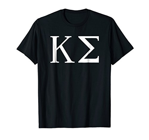 (Mens Kappa Sigma Shirt College Fraternity Sorority Tee Medium Black)