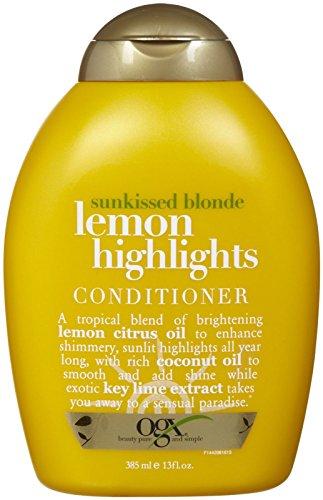 - Ogx Sunkissed Blonde Lemon Highlights Conditioner - 13 oz
