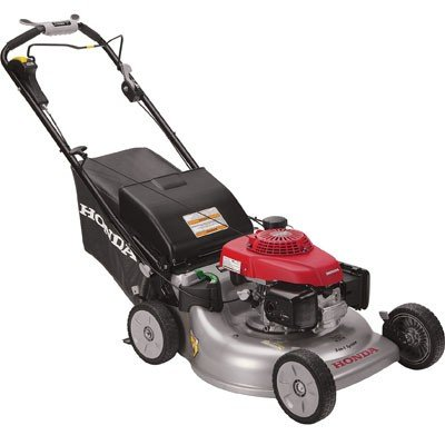 "Honda HRR216VYA 21"" 3-in-1 Self Propelled Smart Drive Roto-stop Lawn Mower with Auto Choke and Twin Blade System For Sale"
