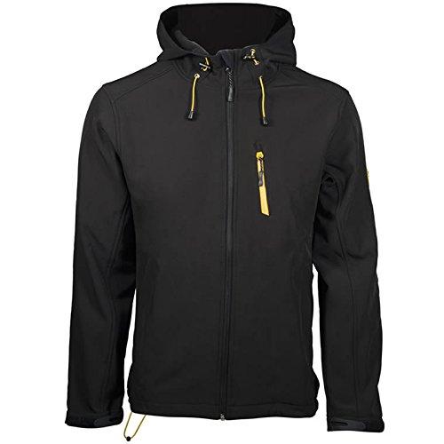 DBLADE Giacca Da Lavoro Softshell Jacket Black Tessuto Elastico ABM Italia
