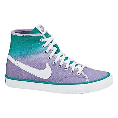 Nike - Zapatillas de tenis para mujer trb grn/white-irn prpl-mtllc s