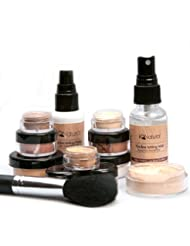 IQ Natural; Pure Minerals Makeup Bare Starter Set with...