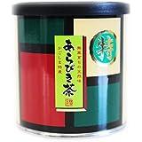 あらびき茶60g 粉末緑茶 鹿児島県産茶葉100% 深蒸し茶-非売品一煎パック付