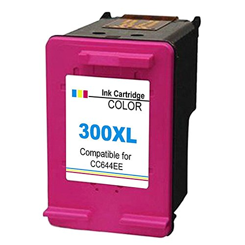 Gmoher Remanufacturado Cartucho de Tinta para HP 300XL HP 300 Cartucho de Tinta CC641EE Compatible con HP Deskjet D1660/D2660/D5560/F2480/F4280/F4580 ...