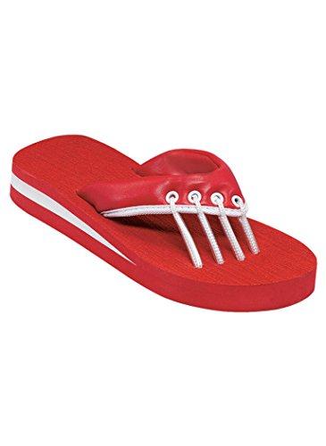 Amerimark Womens Sandalo Spa Per Adulti Rosso Sintetico