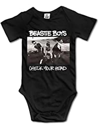 Newborn's Beastie Boys Check Your Head Organic Baby Onesie Jumpsuits