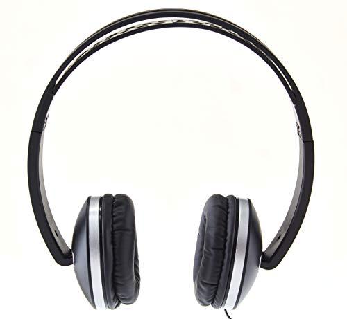 Envent Beatz 500 ET HPM500 BK Wired Headphones with Mic  Black