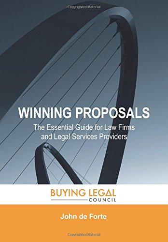 Buy cheap winning proposals the essential guide for law firms and legal services providers