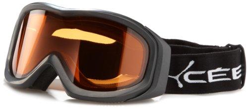 Cébé Crux Medium Masque de ski White Frame Light Rose (Flash Mirror) Lens