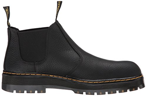Dr. Martens Mens Rivet Steel Toe Chelsea Boot Black Shh1qT