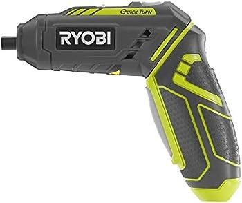 Ryobi QuickTurn 4-Volt Lithium-Ion 1/4 in. Cordless Screwdriver