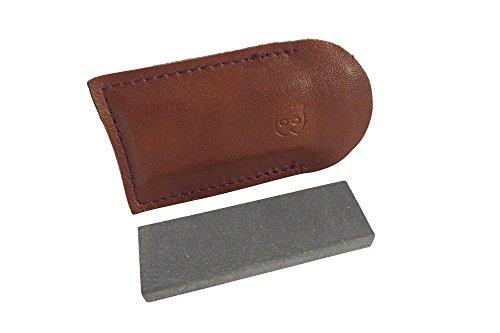 Combination Arkansas Stone (Natural Authentic Arkansas Black (Ultra Fine) Pocket Knife Sharpening Stone Whetstone 3