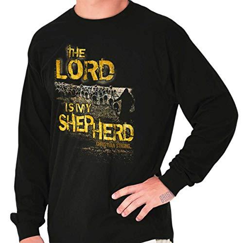 Lord is My Shepherd Jesus Christ God Bible Long Sleeve T Shirt