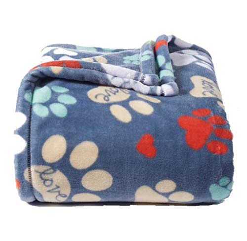 - The Big One Supersoft Plush Throw Paws - 60