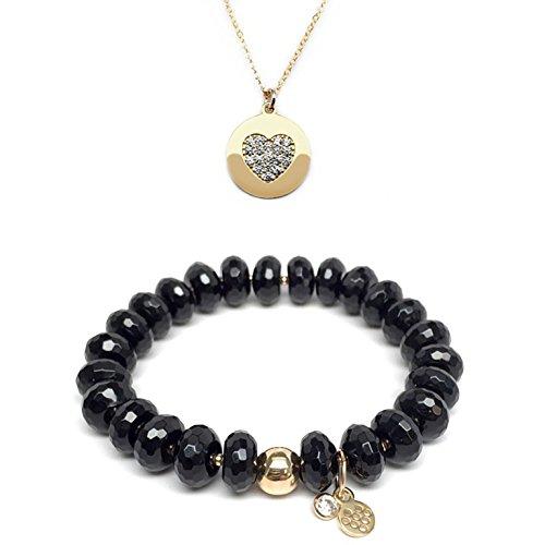 TFS Jewelry Set 10mm Black Onyx London 7